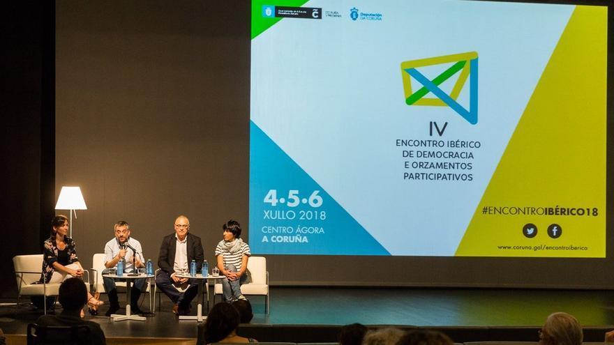 Encontro Ibérico de Democracia e Orzamentos Participativos, A Coruña