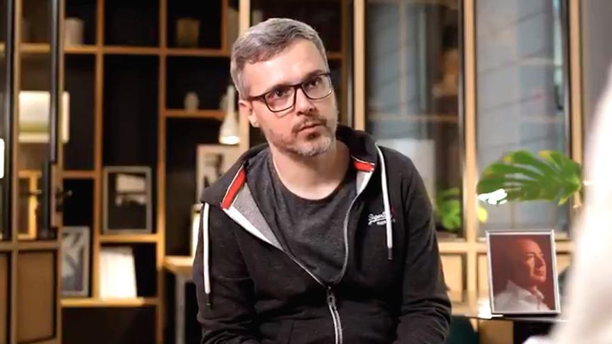 Juan Gómez-Jurado, en el anuncio de su fichaje por Amazon Studios