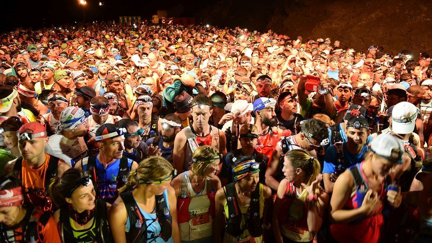Imagen de archivo de la salida de la ultramaratón.