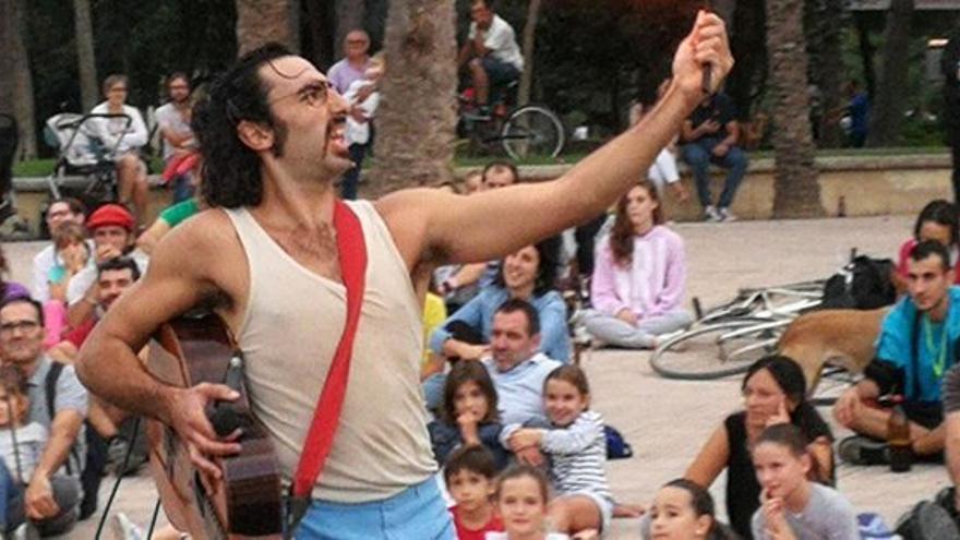 Una de las actuaciones de la Mostra Viva de Valencia
