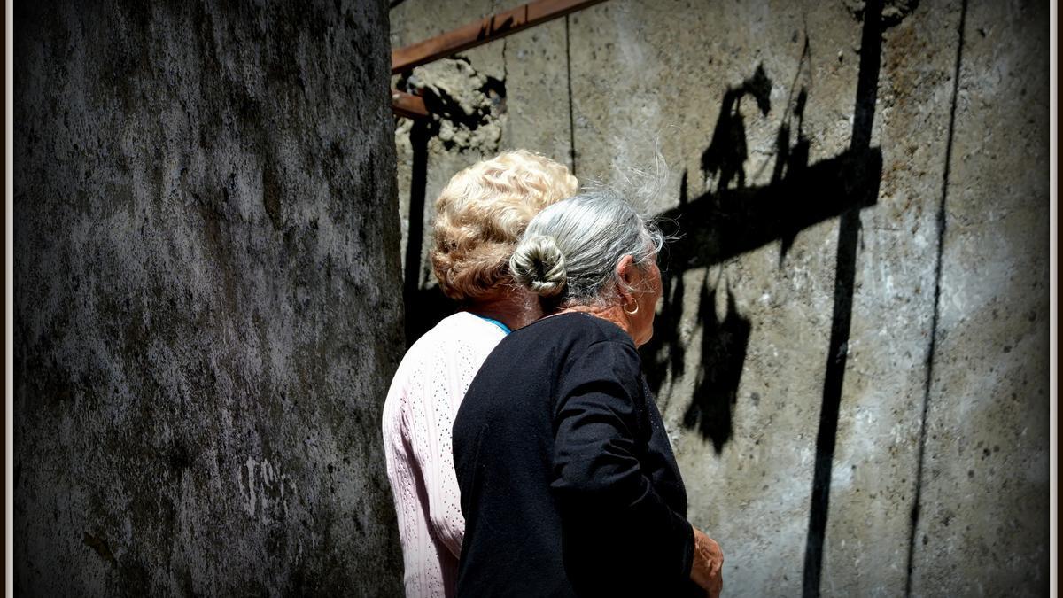 Pensiones ancianos demografía