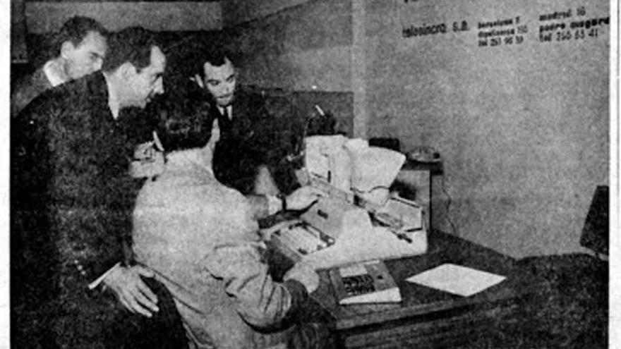 """En 1968, don Juan Carlos de Borbón se interesó por """"el primer computador español"""""""