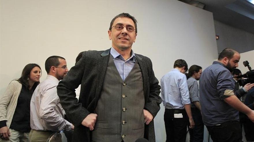 """Podemos cree que el cambio de rector en UCM no afecta al expediente de Monedero, cuya crítica es """"siempre valiosa"""""""
