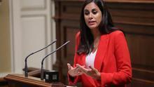 Vidina Espino, portavoz de Ciudadanos en el Parlamento de Canarias.