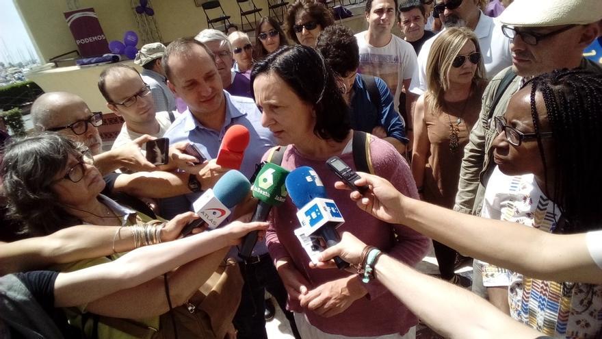 """Bescansa (Podemos) dice que hay """"condiciones"""" para un gobierno de cambio y no cree que haya terceras elecciones"""