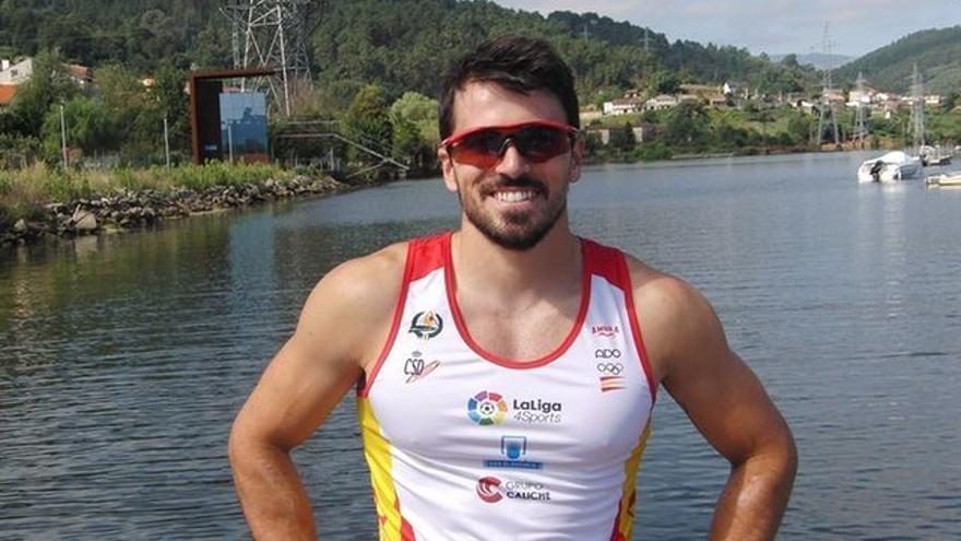 """Paco Cubelos, piragüista olímpico: """"Salimos del confinamiento en el mejor estado físico posible"""""""