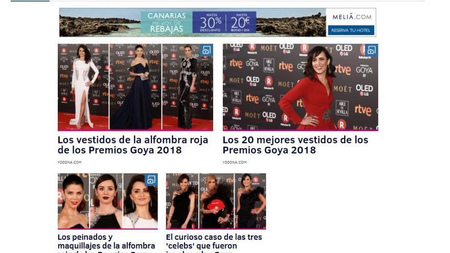 Goya mujeres