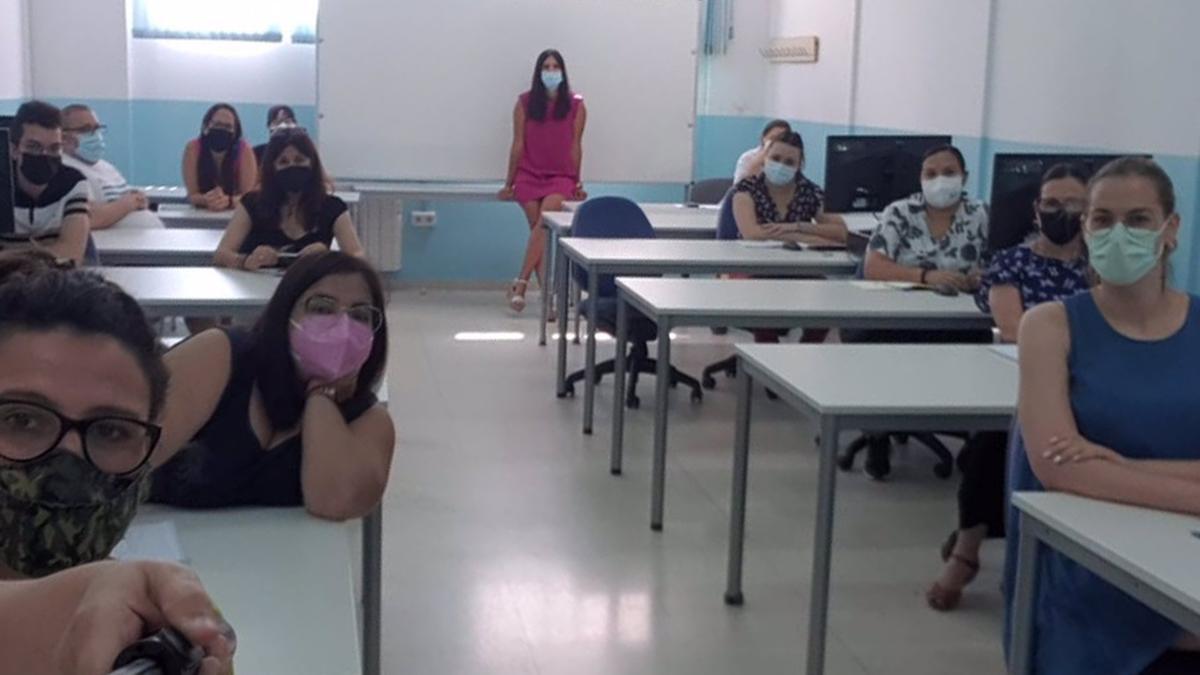 Participantes en la nueva 'Lanzadera Conecta Empleo' de Lucena.