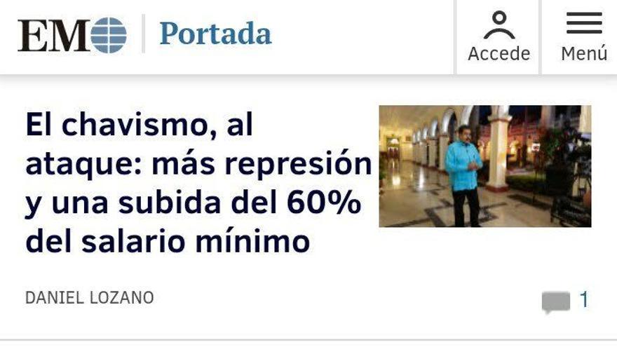 Chavismo ataque
