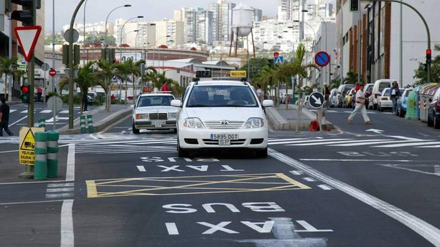 Taxis en Santa Cruz de Tenerife