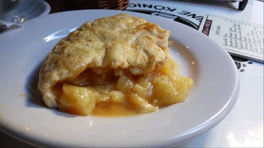 La manjarosa tortilla de patata de Bodega de La Ardosa (foto: Cuchillo)