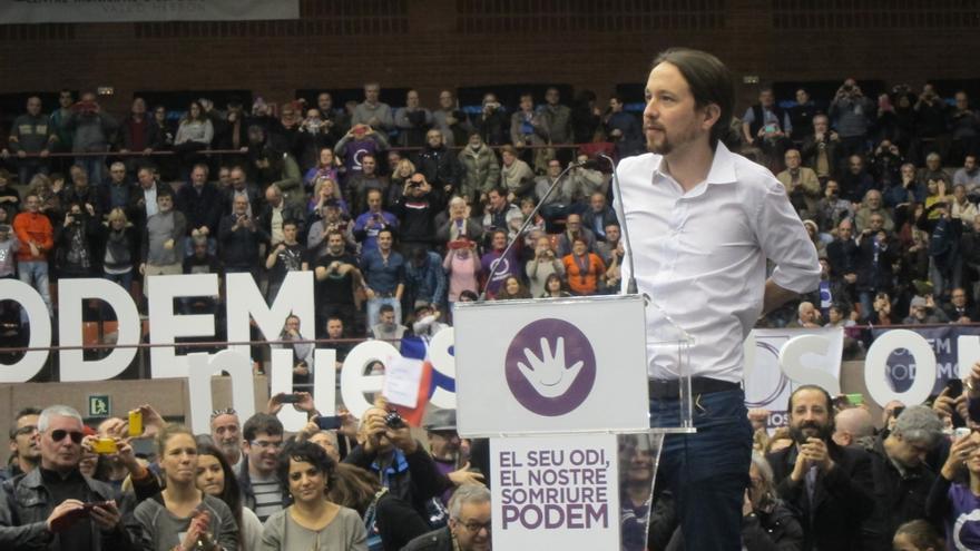 """""""Echar a la casta"""", eje de la manifestación convocada por Podemos en Madrid el 31 de enero entre Cibeles y Sol"""
