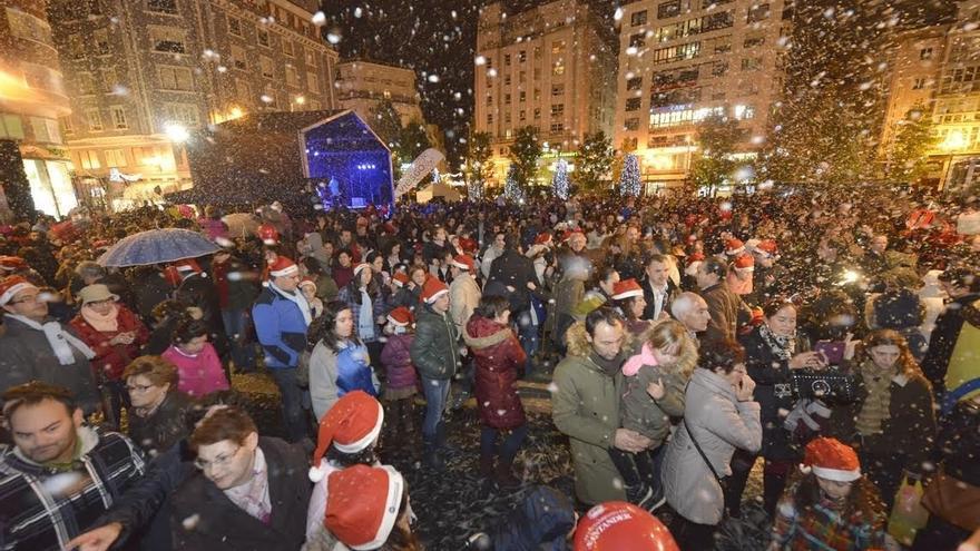Santander se iluminará el 2 de diciembre con más de 400.000 bombillas para recibir la Navidad