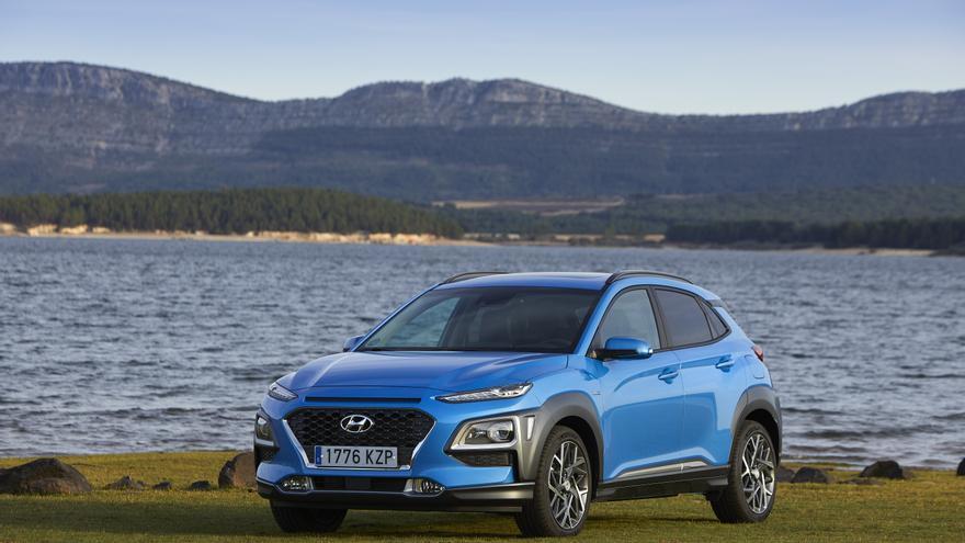 Hyundai incorpora a su catálogo la versión híbrida del Kona.