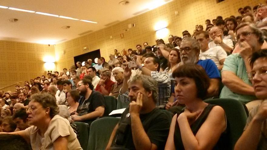 Presentación del Círculo de Podemos de la Universidad Pablo de Olavide.