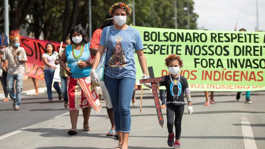 Los indígenas fueron los más afectados por los conflictos de tierra en Brasil en 2020