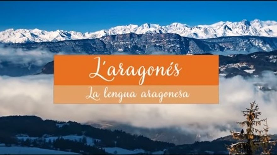 Imagen del vídeo sobre la lengua aragonesa elaborado por el Ayuntamiento de Huesca
