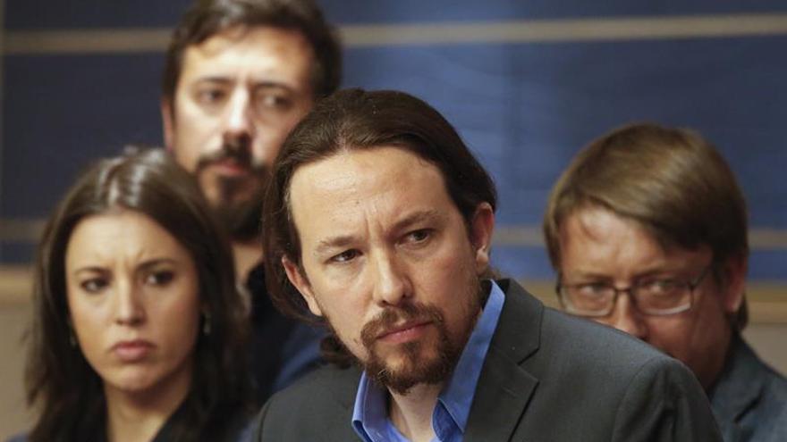 Unidos Podemos prepara una moción de censura contra Mariano Rajoy