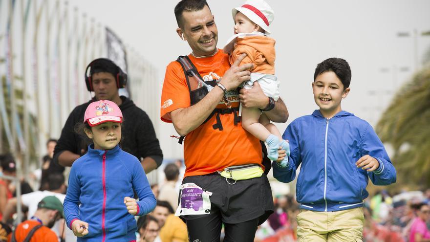 Las familias podrán participar en una prueba no competitiva para la Transgrancanaria 2016.