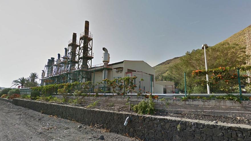 Cetral eléctrica de El Palmar en San Sebastián de La Gomera