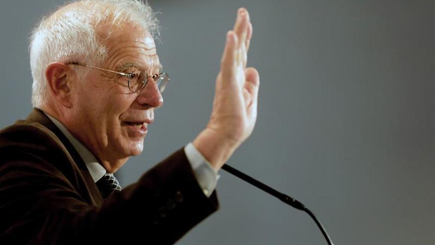 Borrell critica la disgregación de la UE y pide más integración, pese a su dificultad