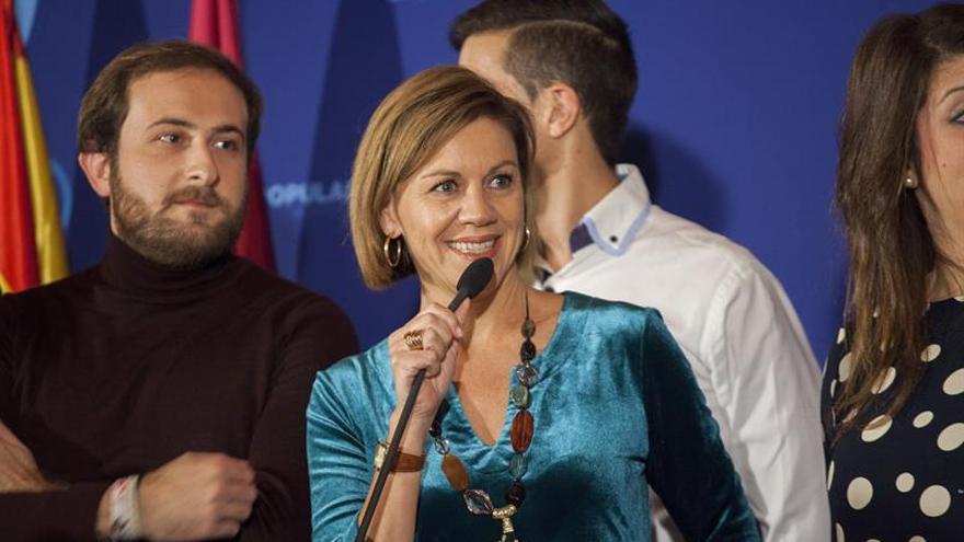 Cospedal:Constitución sólo habría que cambiarla si lo deciden todos españoles