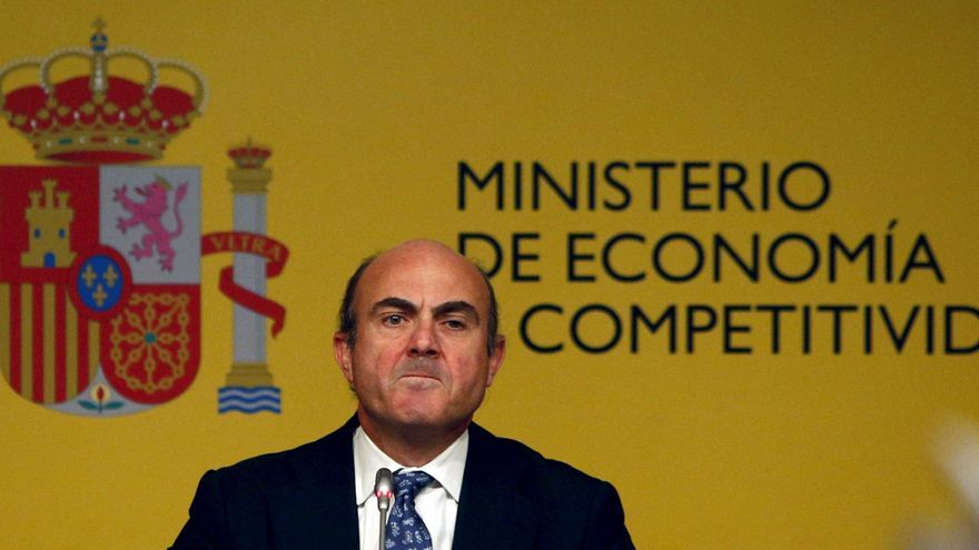 Luis de Guindos anunció el rescate financiero el 9 de junio de 2012.