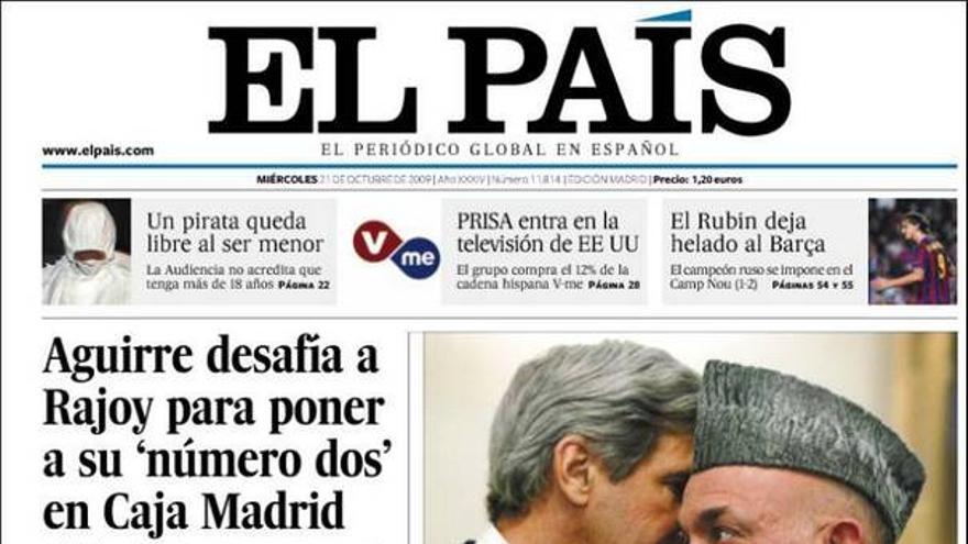 De las portadas del día (21/10/2009) #8