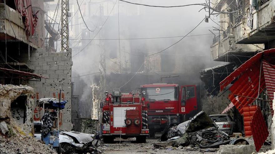 Mueren 125 personas en dos semanas de violentos combates en el sur de Trípoli