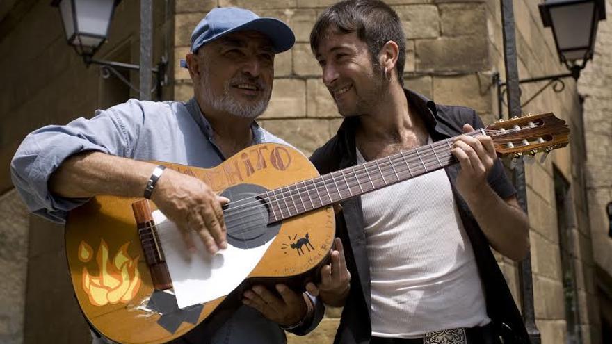 Peret con Muchachito. / José Colón