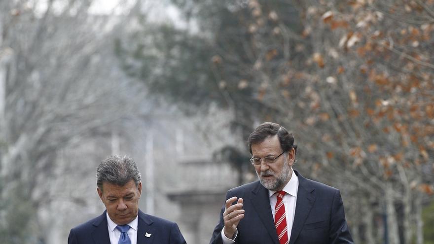 El presidente de Colombia se reúne mañana con el Rey y Rajoy para agradecer el apoyo español al fin de la visa Schengen