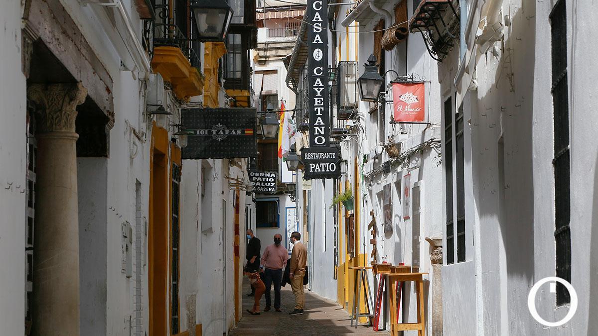 Una calle del casco histórico de Córdoba.