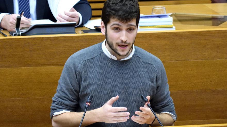 El síndic de Podemos, Antonio Estañ