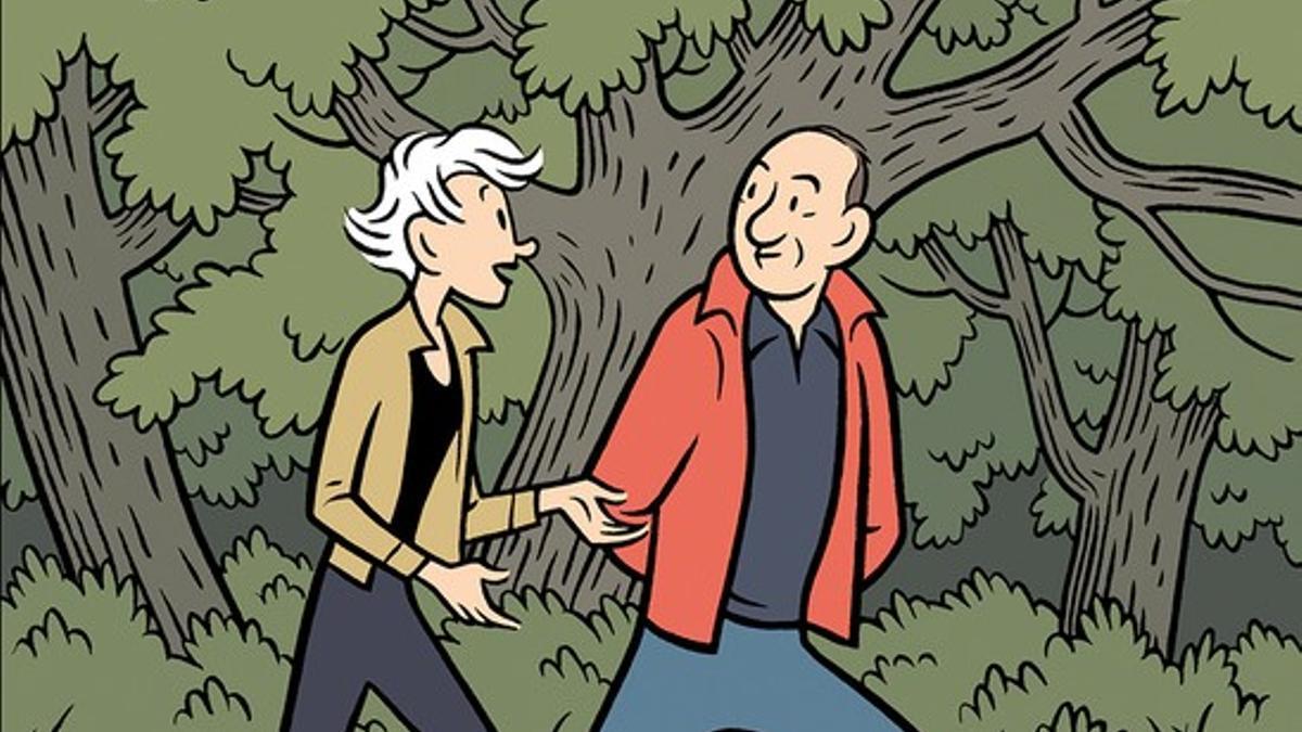 La ilustración de la portada, realizada por el dibujante Max.
