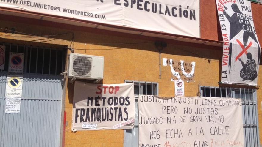 Una de las viviendas que pretende derribar el Ayuntamiento de Madrid / Foto: PAH Madrid