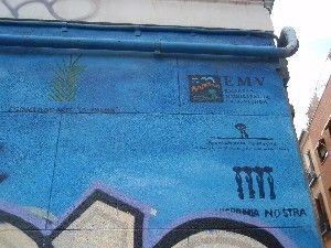 Las firmas institucionales quizá sentenciaron al mural | LUIS DE LA CRUZ