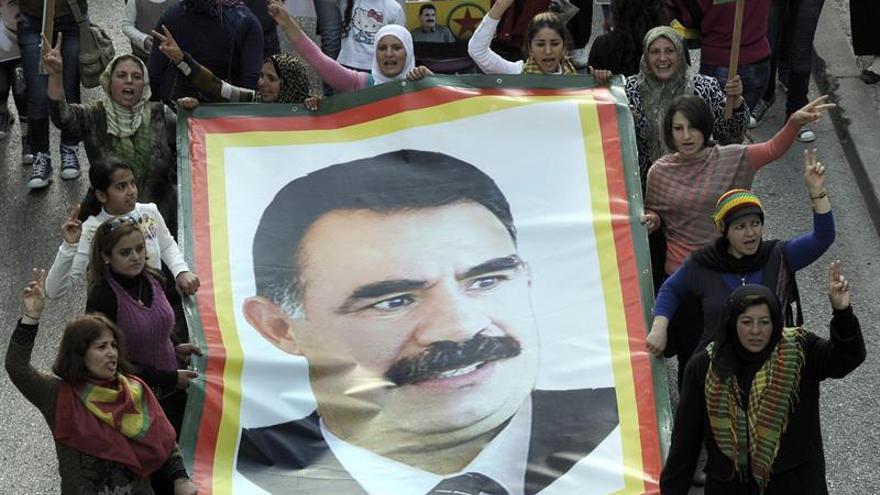 El fundador de la guerrilla kurda pide el cese de la violencia en Turquía