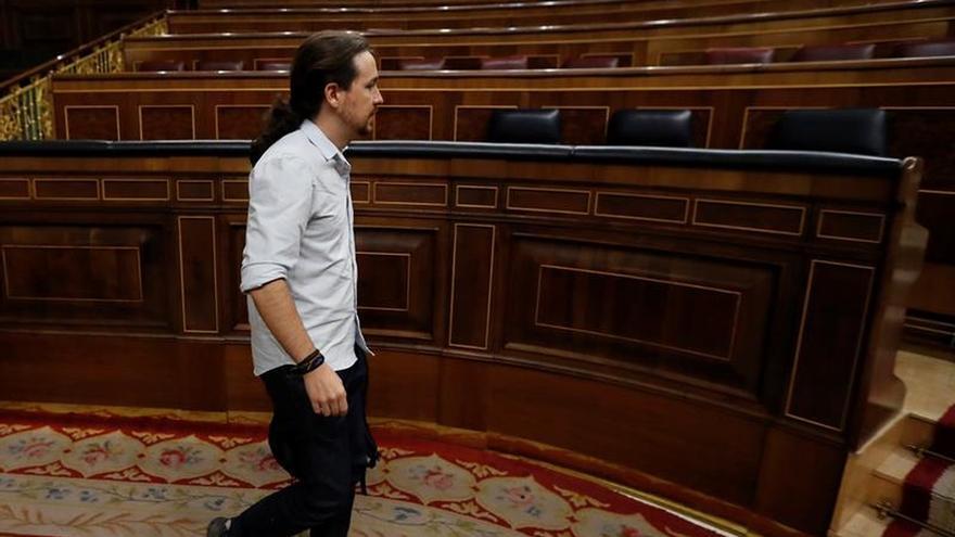 Iglesias debuta en el control a Rajoy preguntando si respetará al Parlamento