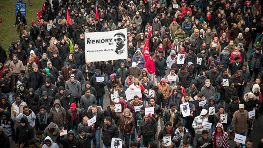 Miles de alemanes vuelven a manifestarse en contra de la xenofobia