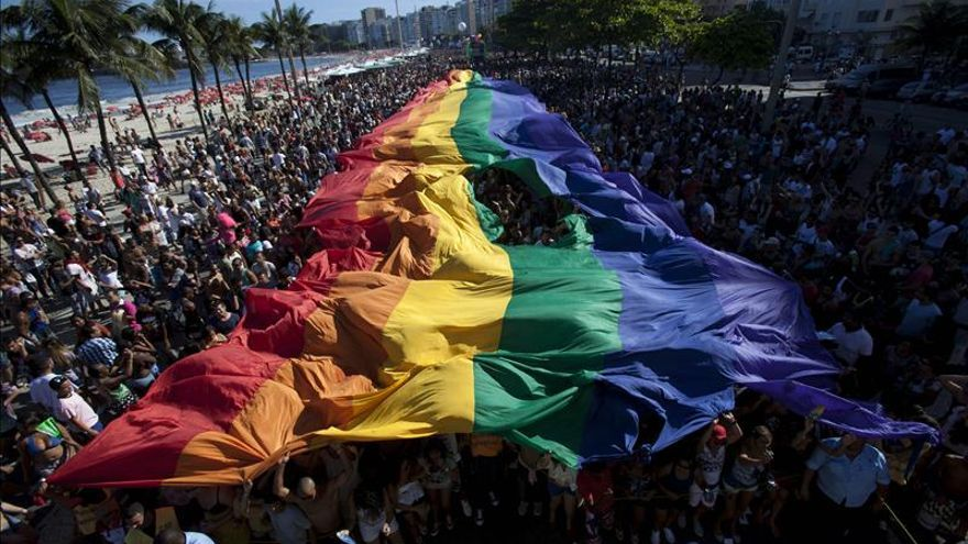 Imagen de archivo de una manifestación del Orgullo Gay.