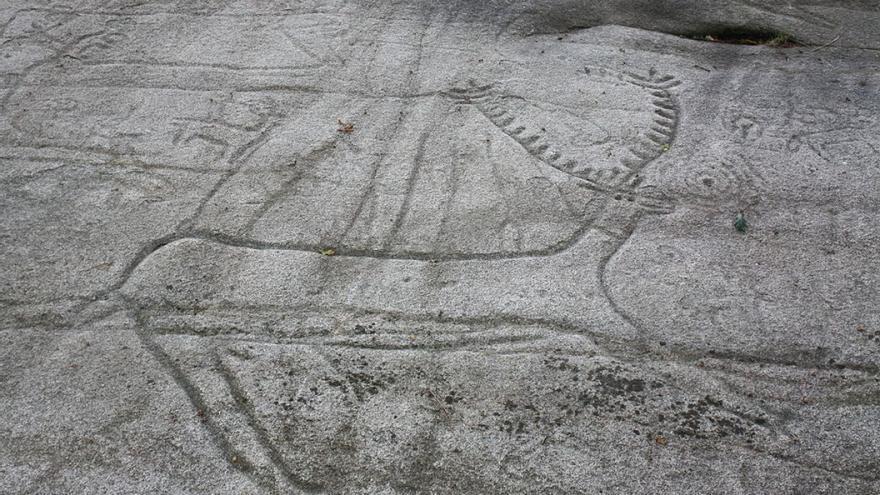 Petroglifo de Laxe dos Carballos