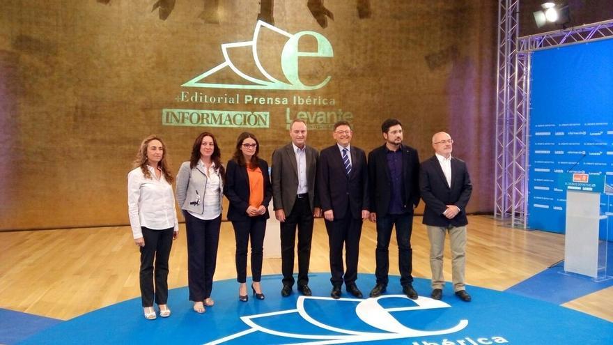 La oposición descarta pactos con el PP y Fabra les replica que no podrán cumplir su programa
