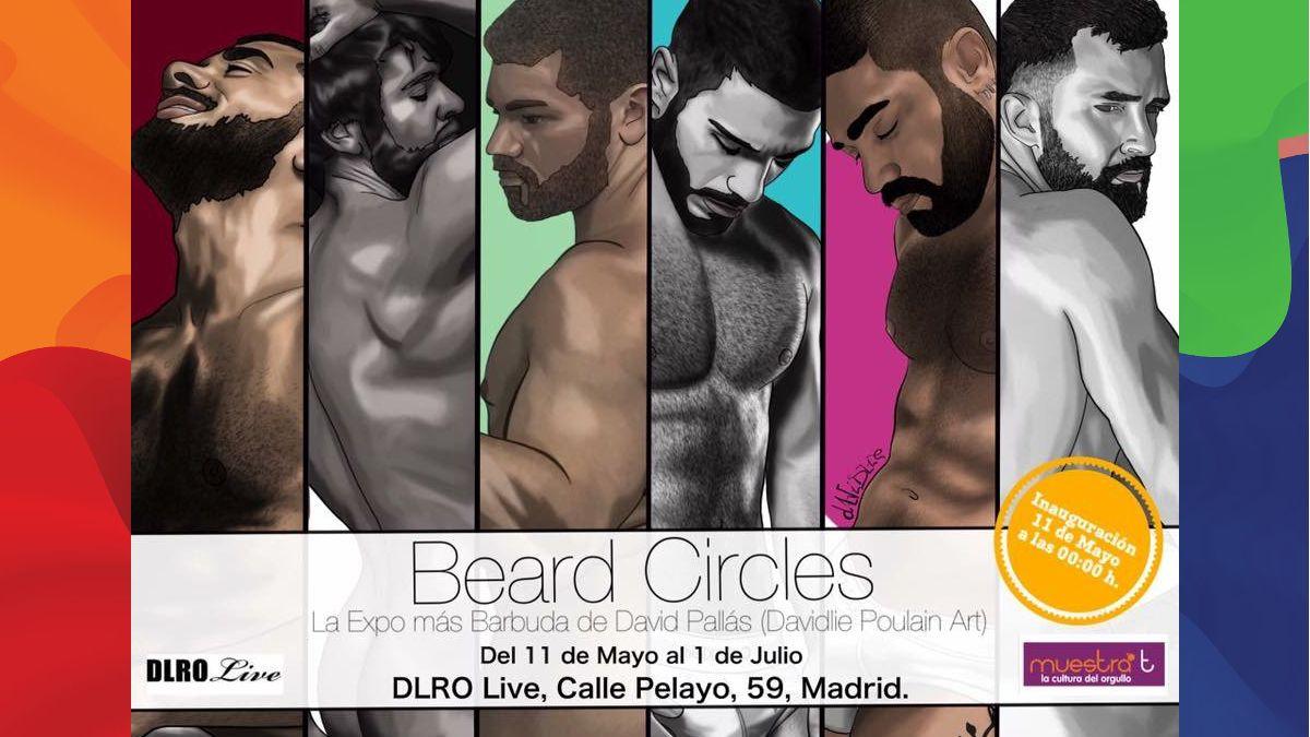 """Exposición """"Beard Circles"""""""