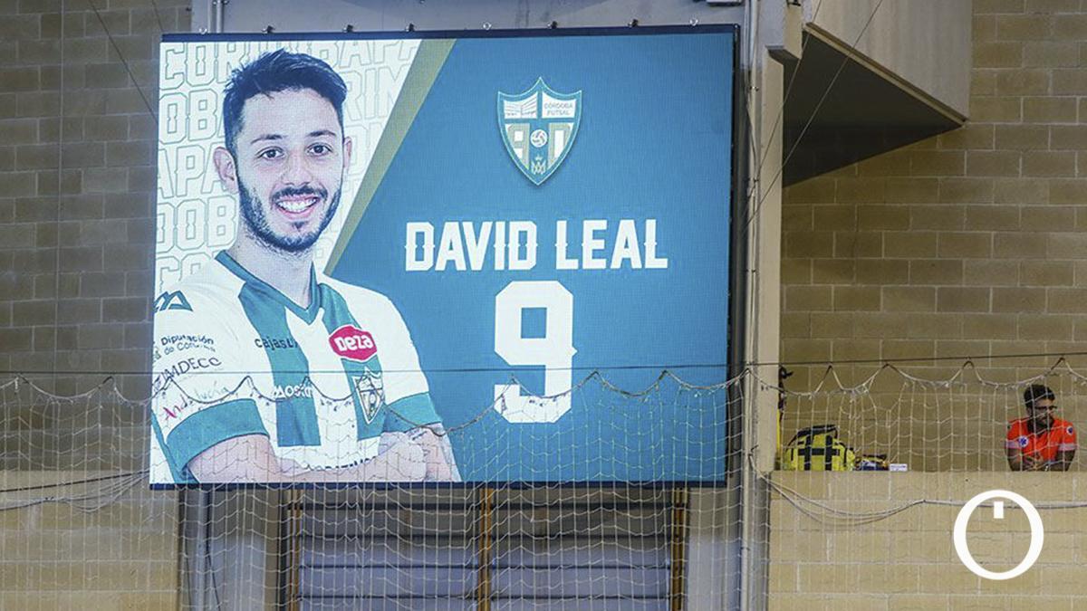 David Leal, en el marcador de Vista Alegre.