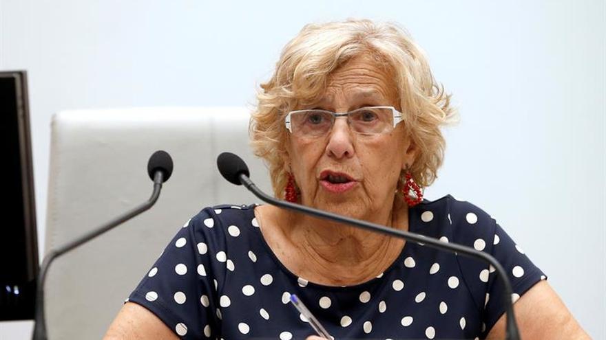 """Carmena, sobre la entrada de inmigrantes en Melilla: """"Son los más valientes"""""""