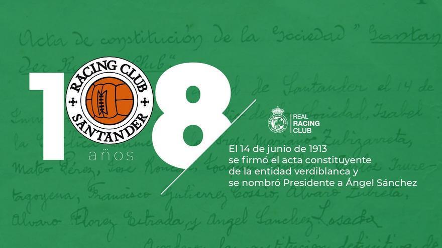 108 Aniversario Del Racing De Santander