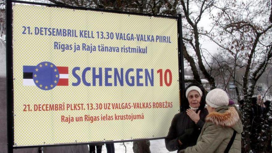 La Eurocámara pide reducir a un año los controles fronterizos en el área Schengen