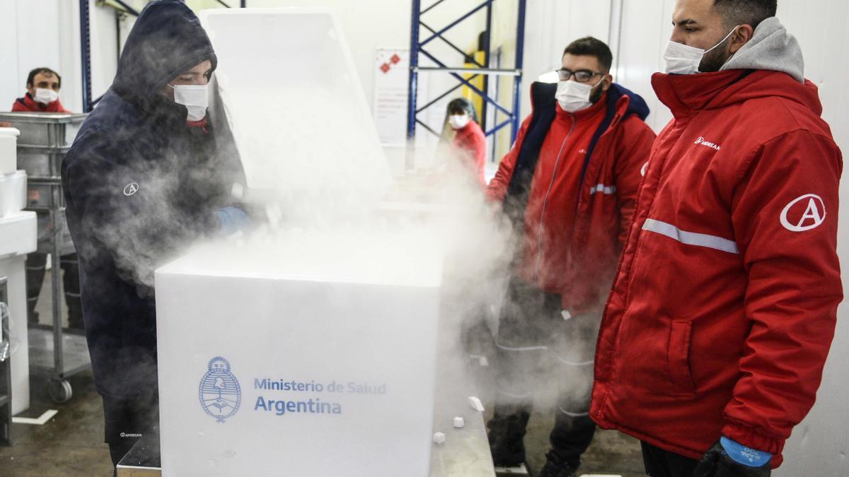 Las provincias y la Ciudad de Buenos Aires comenzarán a recibir un total de 375.805 dosis del segundo componente de la Sputnik V