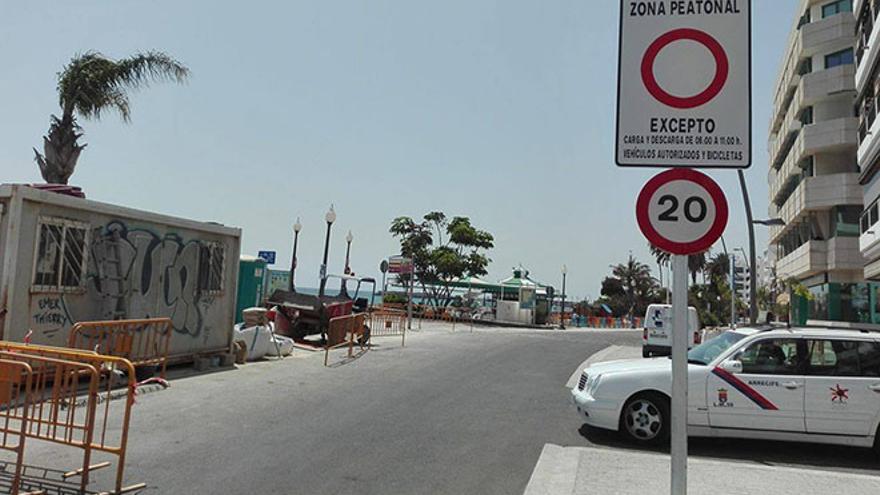 Avenida marítima de Arrecife