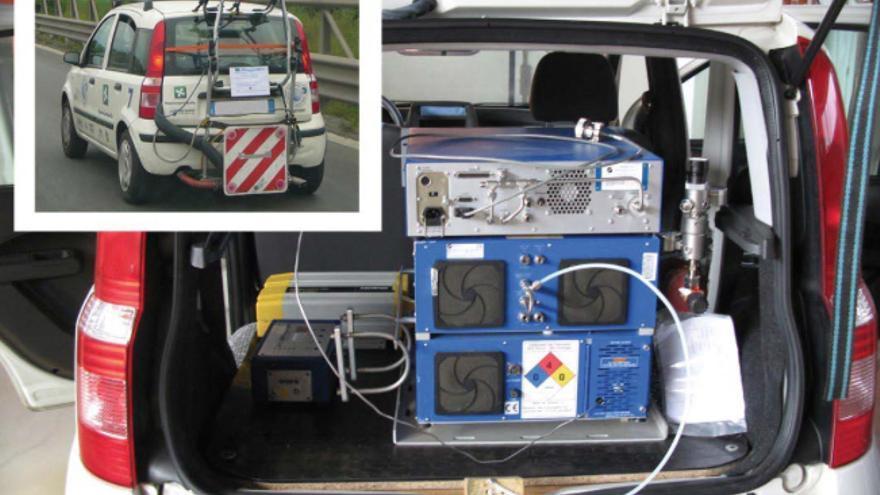 Los sistemas de detección de emisiones portátiles permiten realizar medidas más realistas / ICCT